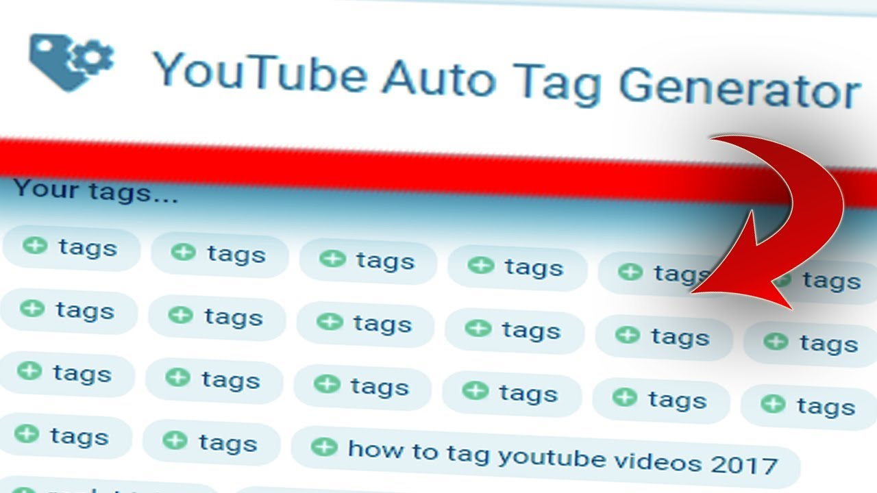 YouTube Auto Tag Generator that Guarantees More Views YouTube