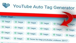 Video YouTube Auto Tag Generator that Guarantees More Views! download MP3, 3GP, MP4, WEBM, AVI, FLV September 2018