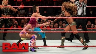 Eight-Woman Tag Team Match: Raw, May 1, 2017