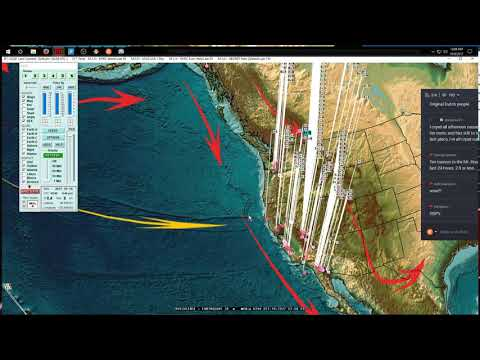 10/09/2017 -- San Francisco California Earthquake -- Pacific Unrest spreads from M6.0 increase
