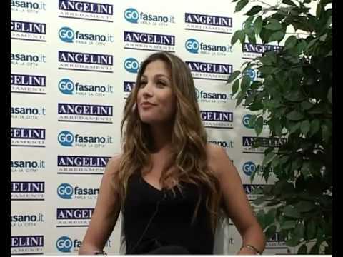 Natalia angelini intervista in esclusiva da go fasano for Angelini arredamenti fasano