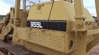 Cat 955L Crawler Loader Part 1