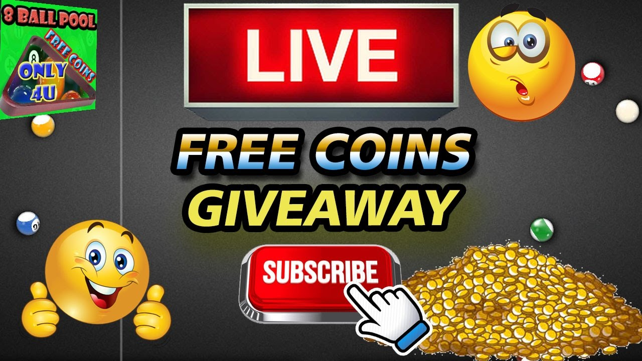 get free 8 ball pool coins and cash
