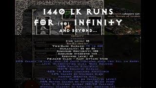 Diablo2 1440 Lower Kurast Runs for Infinity