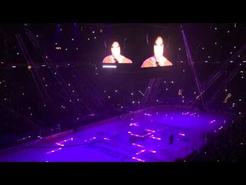 Minnesota Wild ~ Prince pre-game tribute