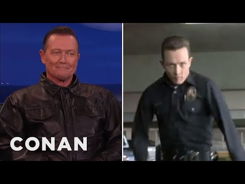 Robert Patrick Explains His T2 Run   CONAN on TBS