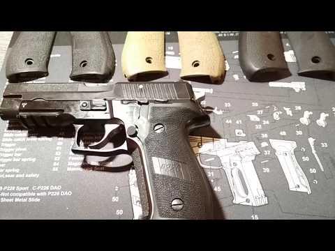 Sig P226 - Тест накладок на рукоятку