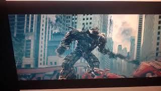 Transformers: Dark Of The Moon - Optimus Prime VS Sentinel Prime & Megatron