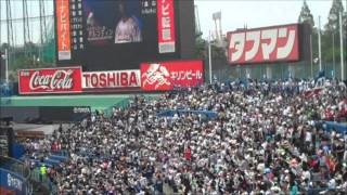 Haddieman in Japan 05-03-2011 Yakult Swallows vs Chunichi Dragons