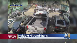 Suspected Car Thief Arrested In SF Tenderloin After Multiple Hit-And-Run Collisions