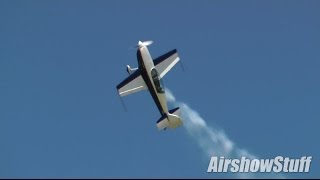 Michael Vaknin - Extra 300 Aerobatic Performance - Wings Over Waukegan Airshow 2014