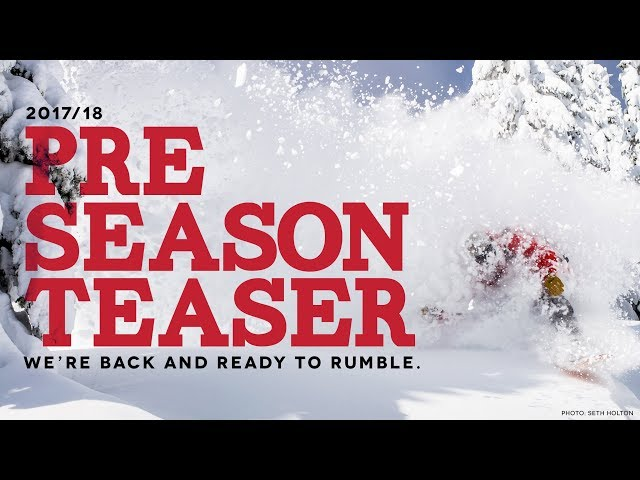 The 2017/18 Season Kicks off December 9th! Get Pumped!