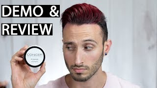 Concept Creations Pomade | NEW Startup Brand | DEMO & REVIEW