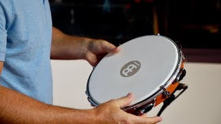 """MEINL Percussion 10"""" Traditional Wood Pandeiro - PA10CN-M"""