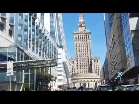 Warsaw downtown drive part 2