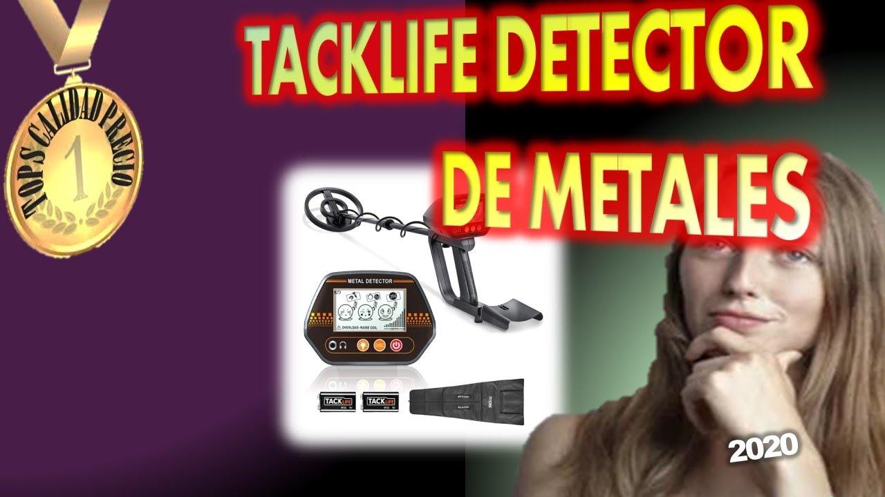 🔴TACKLIFE DETECTOR DE METALES[2020 JULIO]