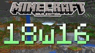 Buffet ! Snapshot 18w16a - Minecraft 1.13