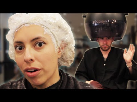 People Dye Their Hair Gray For The First Time