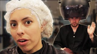People Dye Their Hair Gray For The First Time Video