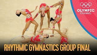 Rhythmic Gymnastics Group Final | Rio 2016 Replays