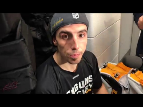 Penguins goaltender Marc-Andre Fleury