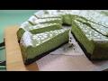 Baked Matcha Cheesecake とっても濃厚ベイクド抹茶チーズケーキ♪