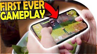 *FIRST EVER* FORTNITE MOBILE GAMEPLAY - Mobile Fortnite Battle Royale NEW Gameplay Trailer Breakdown