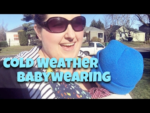 Winter Babywearing Tips // How to Wear Baby in Cold Weather