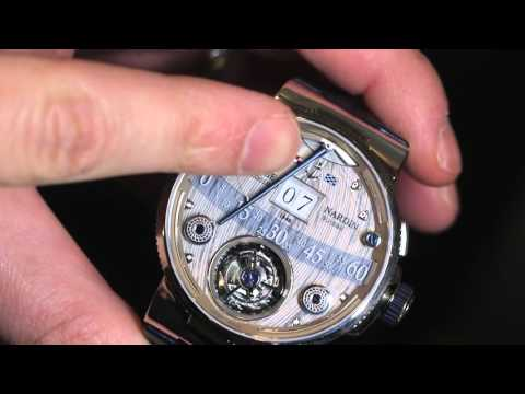 Ulysse Nardin Grand Deck Marine Tourbillon Watch Hands On | aBlogtoWatch
