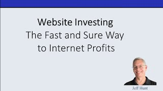 Website Investing: The Fast and Sure Way to Internet Profits