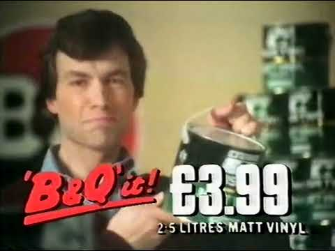 B&Q advert - New Year Sale (1980's)