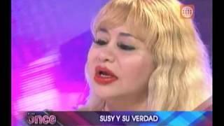 susy diaz llora por su hija florcita polo  todo por la vecina del 303-2012
