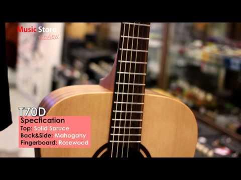 Music Store - Review Acoustic Guitar Lag T70D