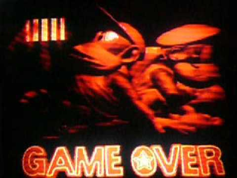 Donkey Kong Country 2 - Game Over Screen - YouTube