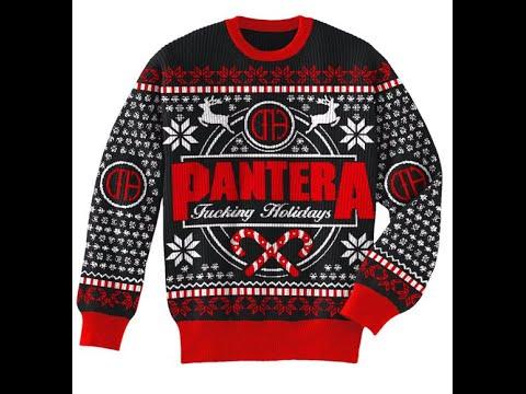 Mel Taylor - Pantera Christmas Sweaters