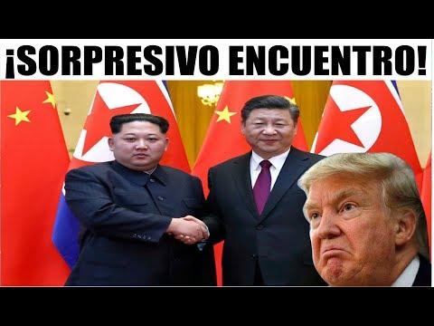 Ultimas noticias NORCOREA CHINA, SORPRESIVA VISITA DE KIM 28/03/2018