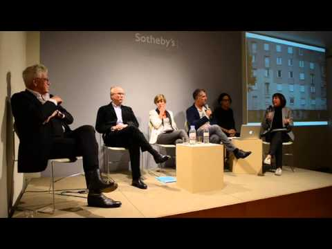 """PANEL TALK"" at Katz Contemporary Zurich, with Feipel & Bechameil, Max Dudler, Georg Franck"