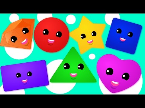The Shapes Song | Learn Shapes and Lots More Nursery Rhymes Collection | Kids Songs