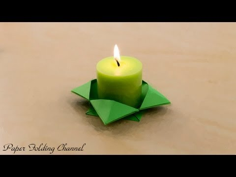 Origami CandlestickYouTube