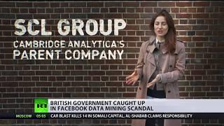 British govt caught up in Facebook data mining scandal