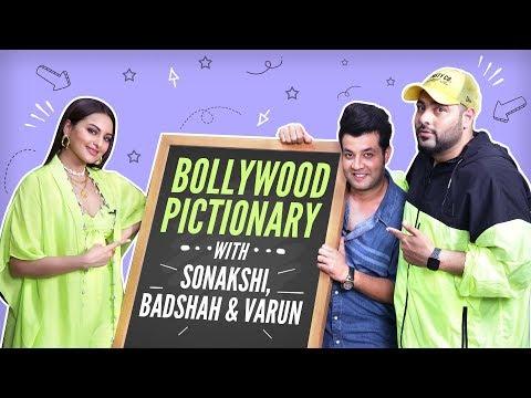 Sonakshi Sinha, Badshah and Varun Sharma play Bollywood Pictionary | Khandaani Shafakhana Mp3