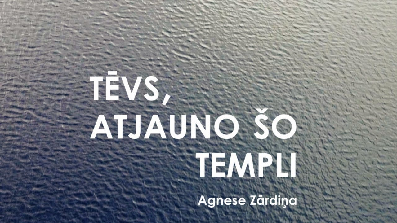 Ģertrūdiete Agnese Zārdiņa priecē ar jaunu dziesmu!
