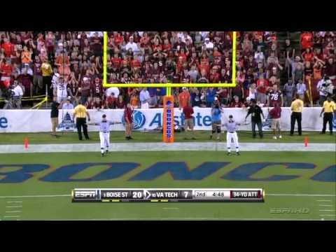 #3 Boise State Broncos at #10 Virginia Tech Hokies - 2010