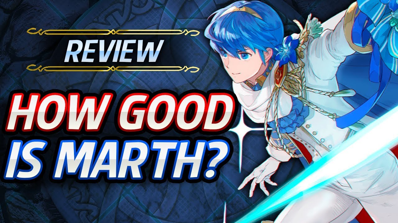 Fire Emblem Heroes Unit Review How Good Is Groom Marth Builds Analysis Youtube