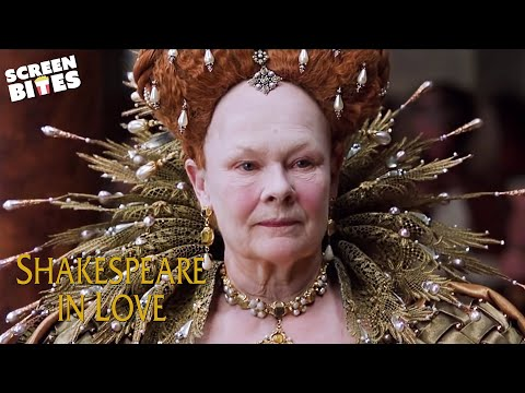 Judi Dench as Queen Elizabeth | A Woman On The Stage | Shakespeare in Love | SceneScreen