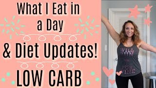 What I Eat In a Day | LOW CARB | lil Piece of Hart