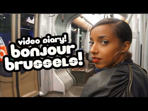 Travel Diary! My first time in Brussels!