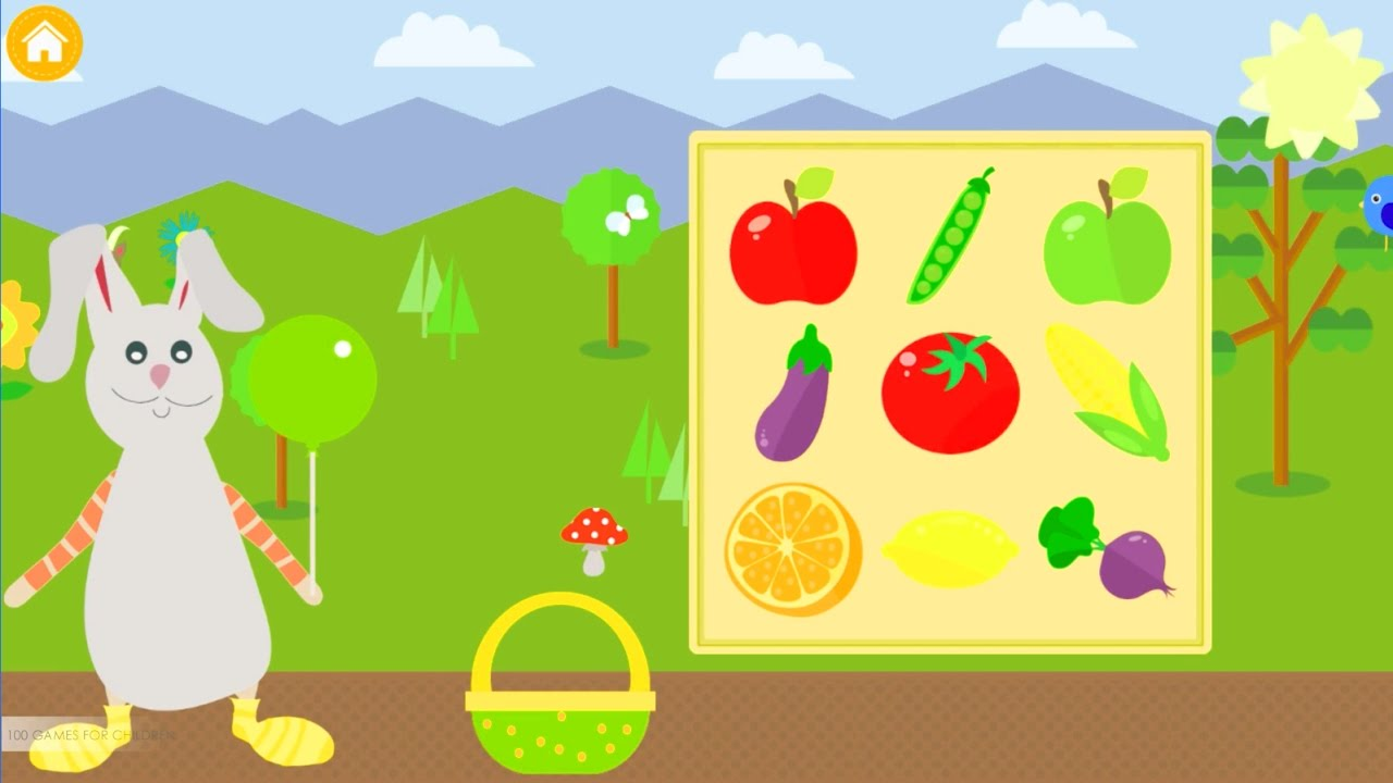Learning logic game for toddlers \