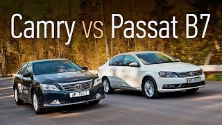 Toyota Сamry или Volkswagen Passat? Анти-Solaris за 800 тысяч: спринт-тест подержанных автомобилей