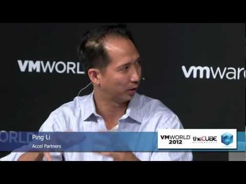 Ping Li, Accel Partners & Frank Artale, Ignition Partners - VMworld 2012 - theCUBE